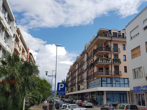 Centar grada zgrada (kod Prve banke) - Master inžinjering